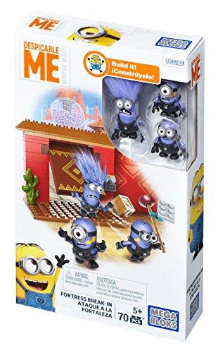 Ich einfach unverbesserlich Festungseinbruch Minions Mega Bloks DKX77